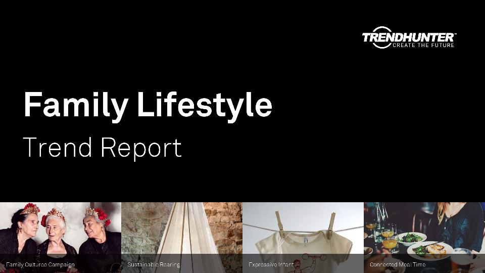 Family Lifestyle Trend Report Research