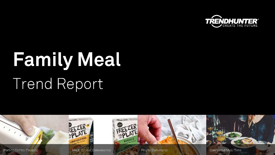 Family Meal Trend Report Research
