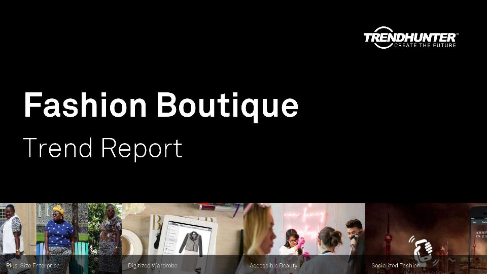 Fashion Boutique Trend Report Research