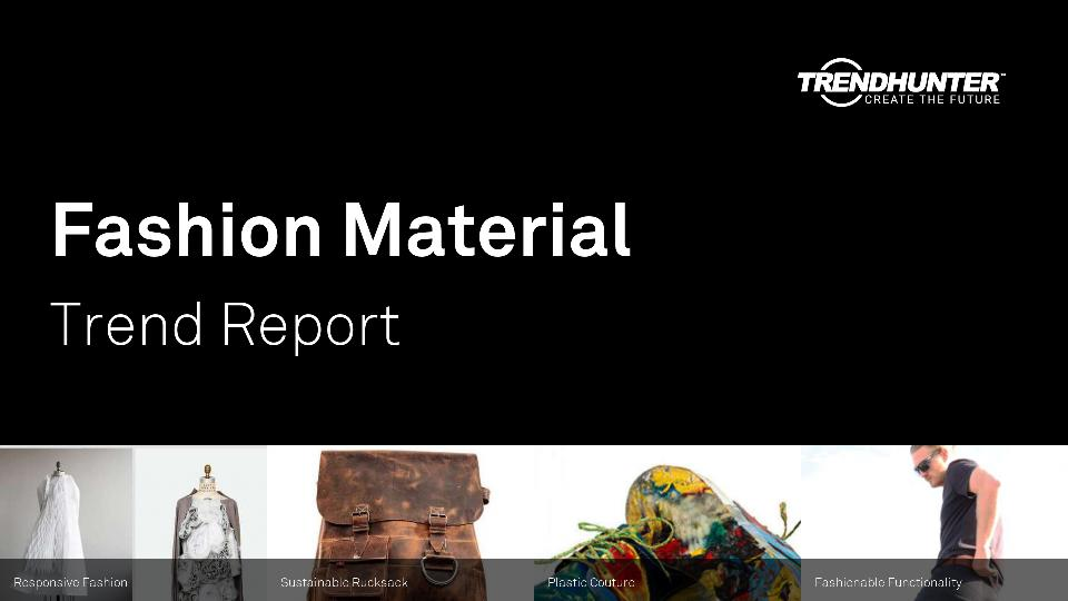 Fashion Material Trend Report Research