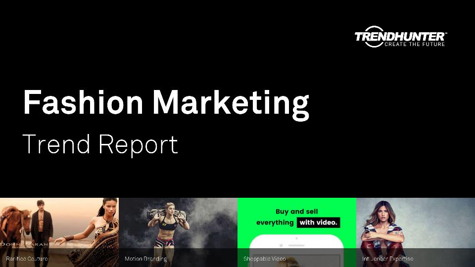 Fashion Marketing Trend Report Research