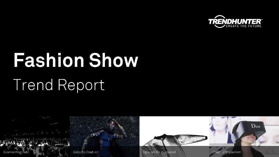 Fashion Show Trend Report Research