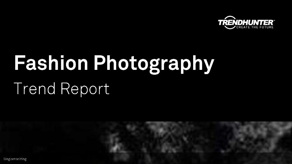 Fashion Photography Trend Report Research