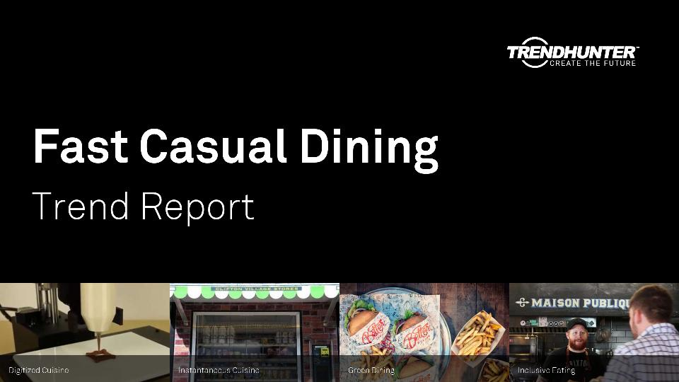 Fast Casual Dining Trend Report Research
