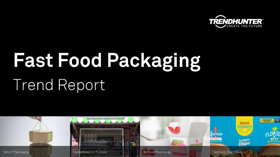Fast Food Packaging Trend Report Research