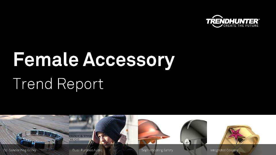 Female Accessory Trend Report Research