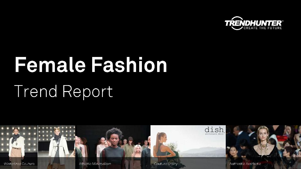 Female Fashion Trend Report Research