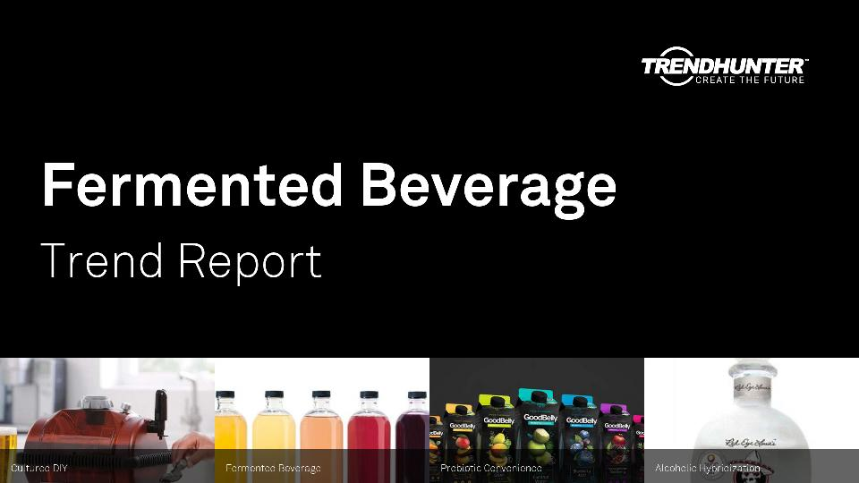 Fermented Beverage Trend Report Research