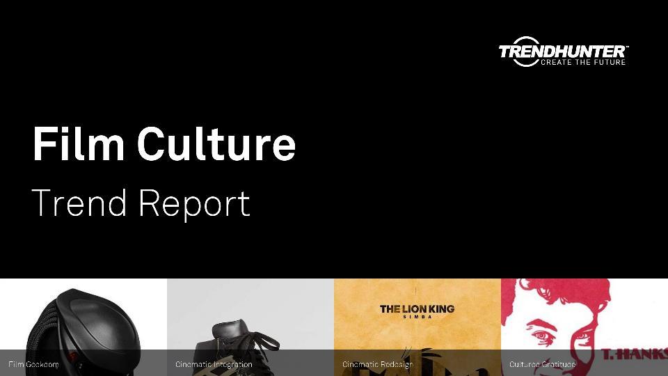 Film Culture Trend Report Research
