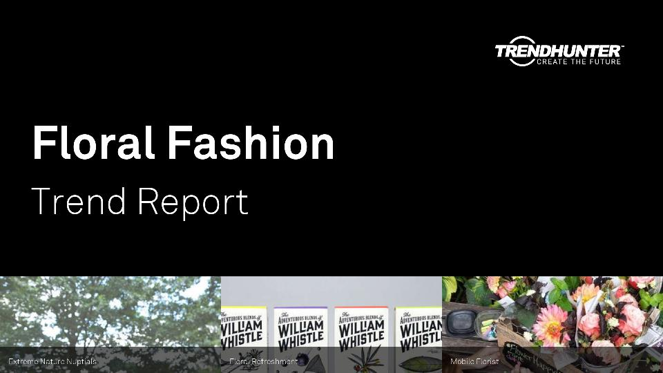 Floral Fashion Trend Report Research