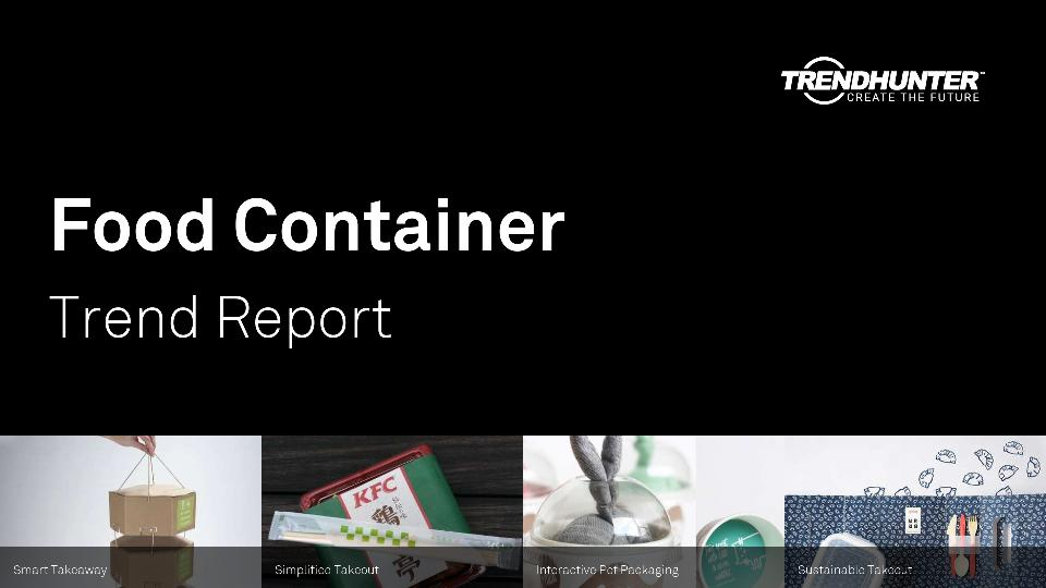 Food Container Trend Report Research
