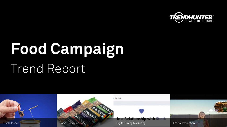 Food Campaign Trend Report Research