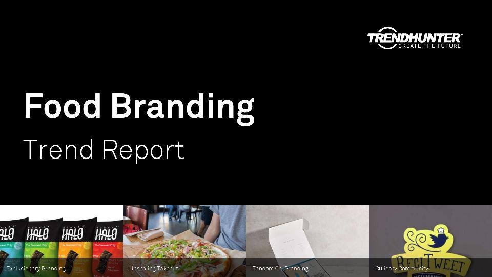 Food Branding Trend Report Research