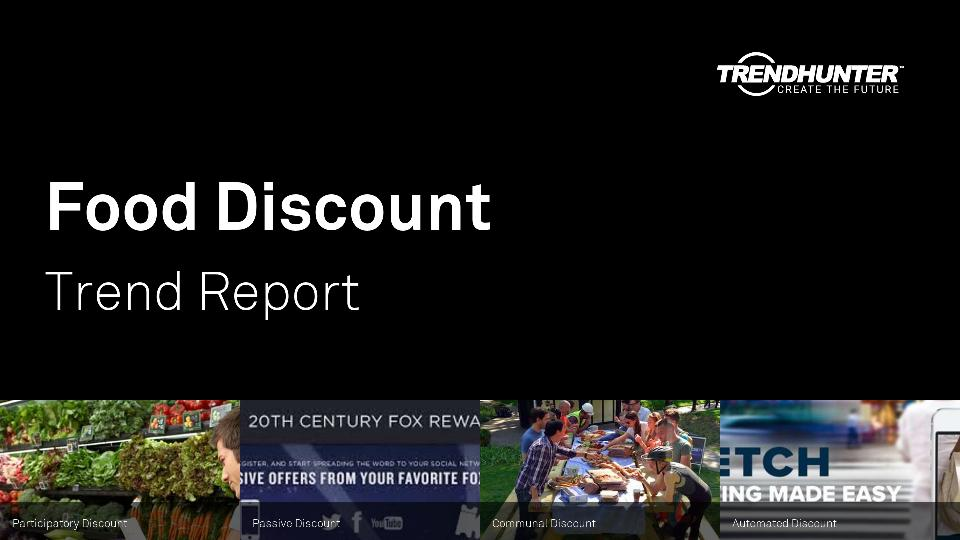 Food Discount Trend Report Research