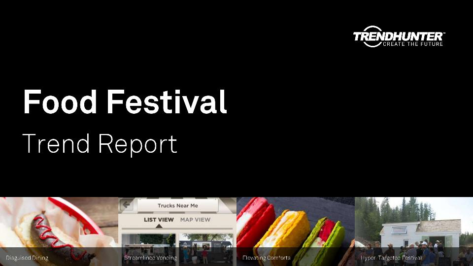 Food Festival Trend Report Research