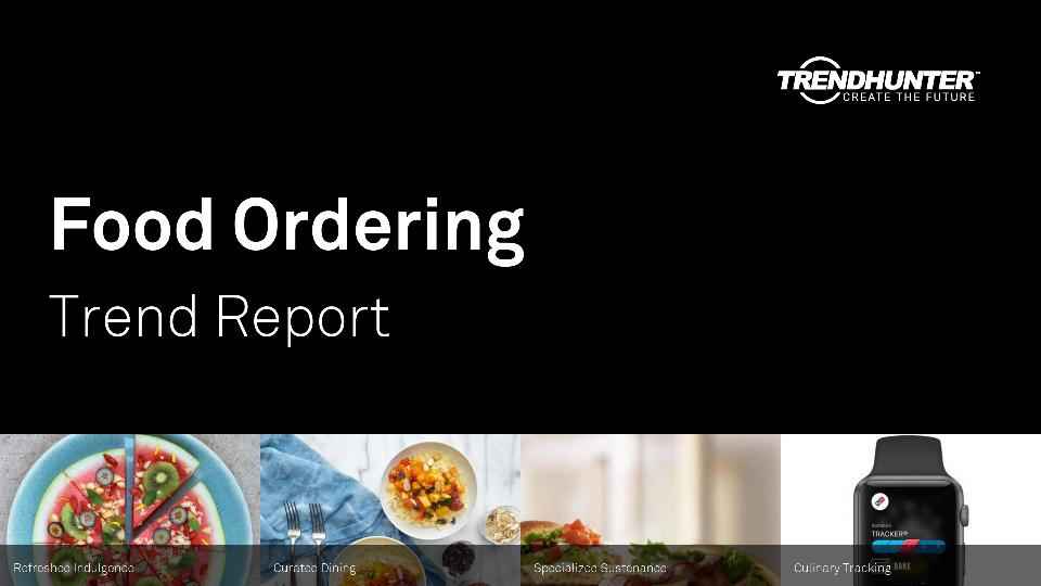 Food Ordering Trend Report Research