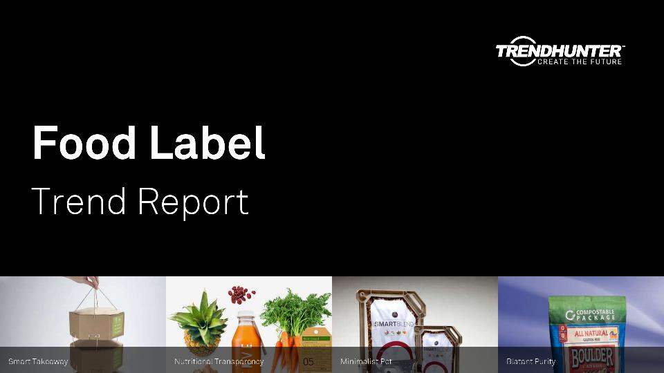 Food Label Trend Report Research