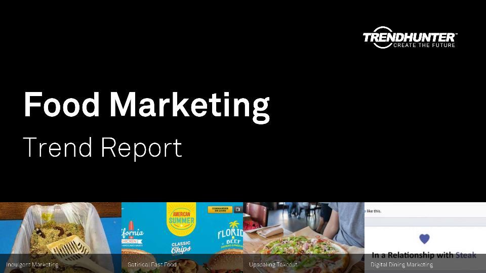Food Marketing Trend Report Research