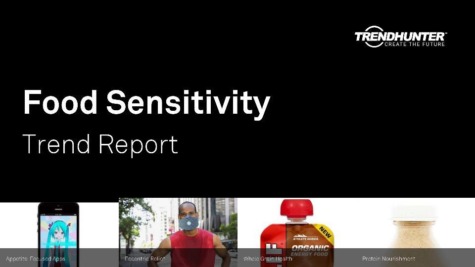 Food Sensitivity Trend Report Research
