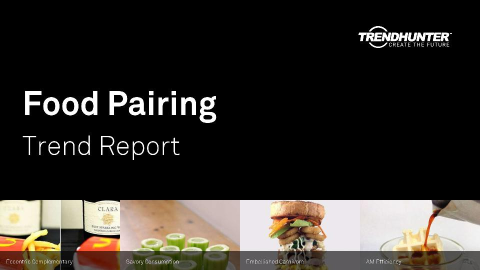 Food Pairing Trend Report Research