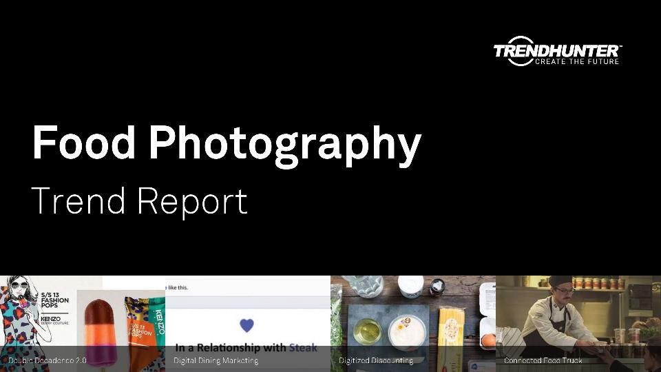 Food Photography Trend Report Research