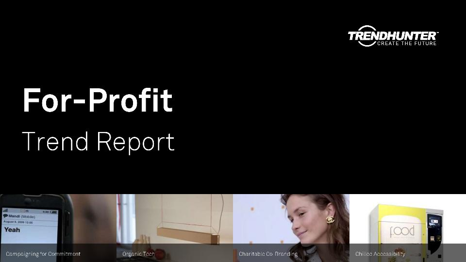 For-Profit Trend Report Research
