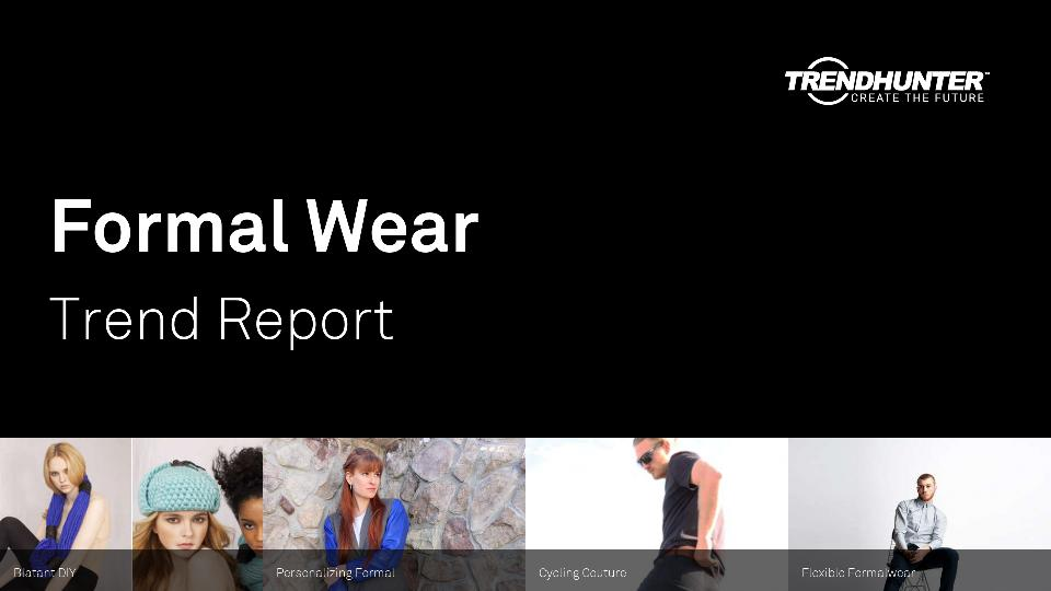 Formal Wear Trend Report Research