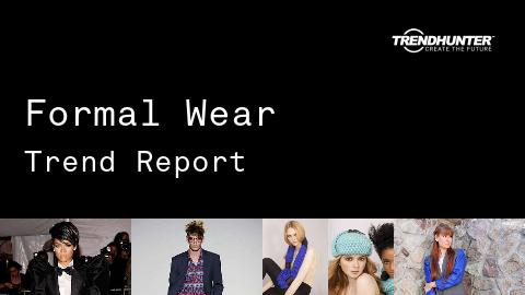 Formal Wear Trend Report and Formal Wear Market Research