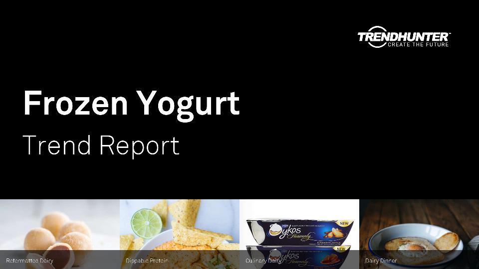 Frozen Yogurt Trend Report Research