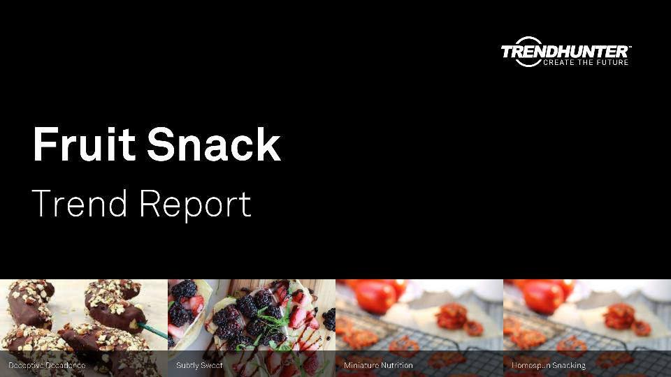 Fruit Snack Trend Report Research