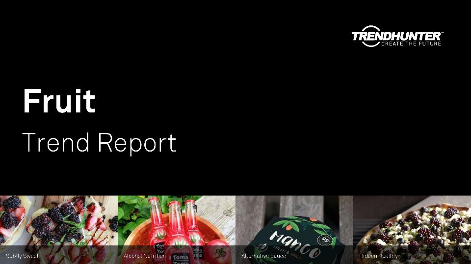 Fruit Trend Report Research