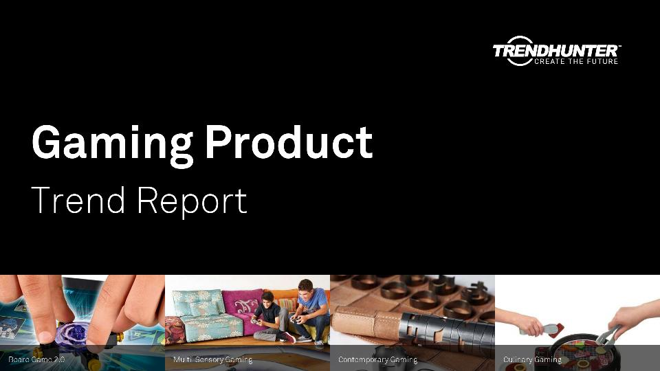 Gaming Product Trend Report Research