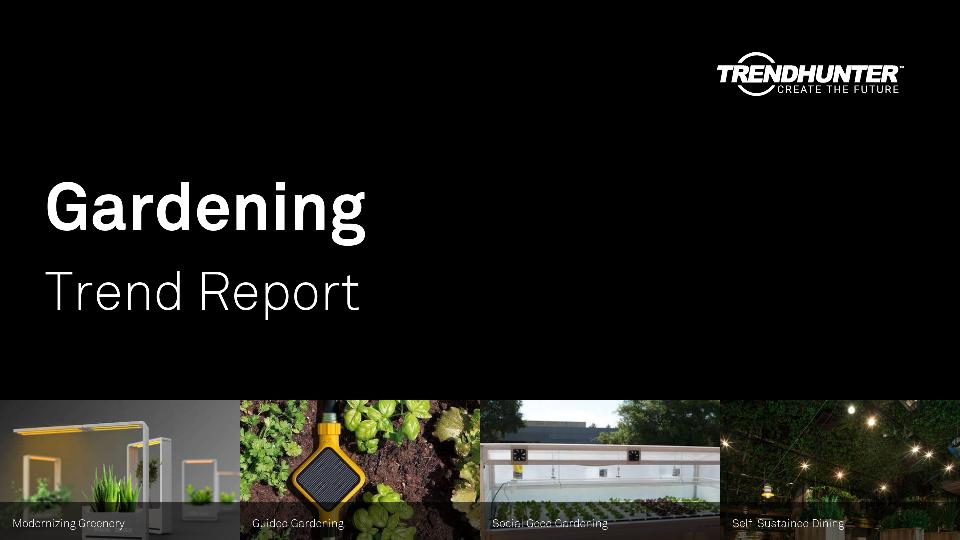 Gardening Trend Report Research