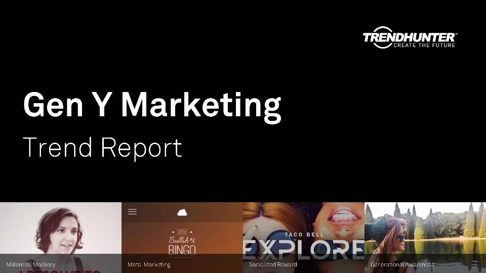 Gen Y Marketing Trend Report Research