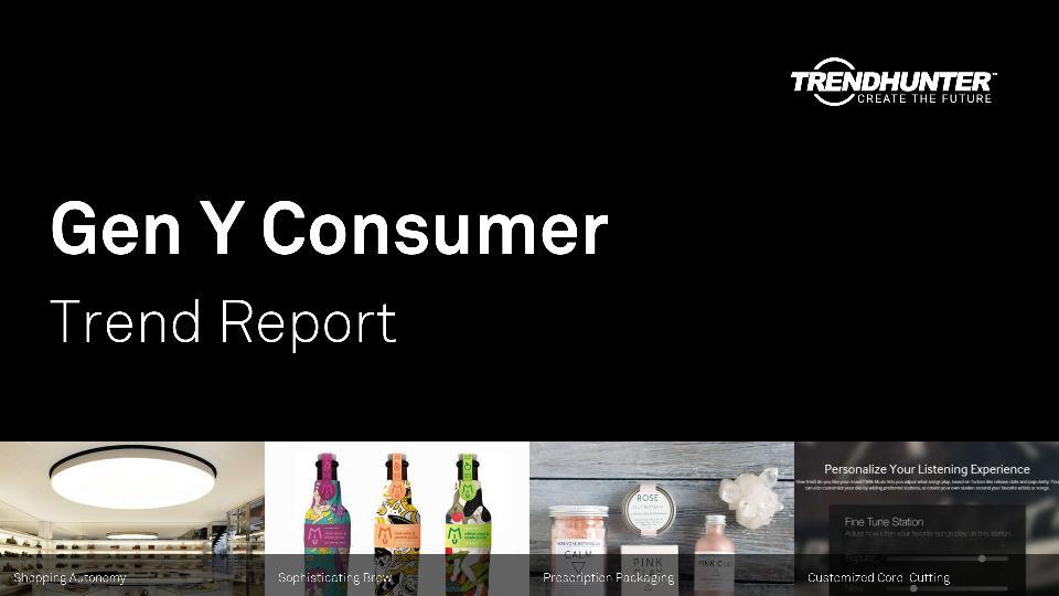 Gen Y Consumer Trend Report Research