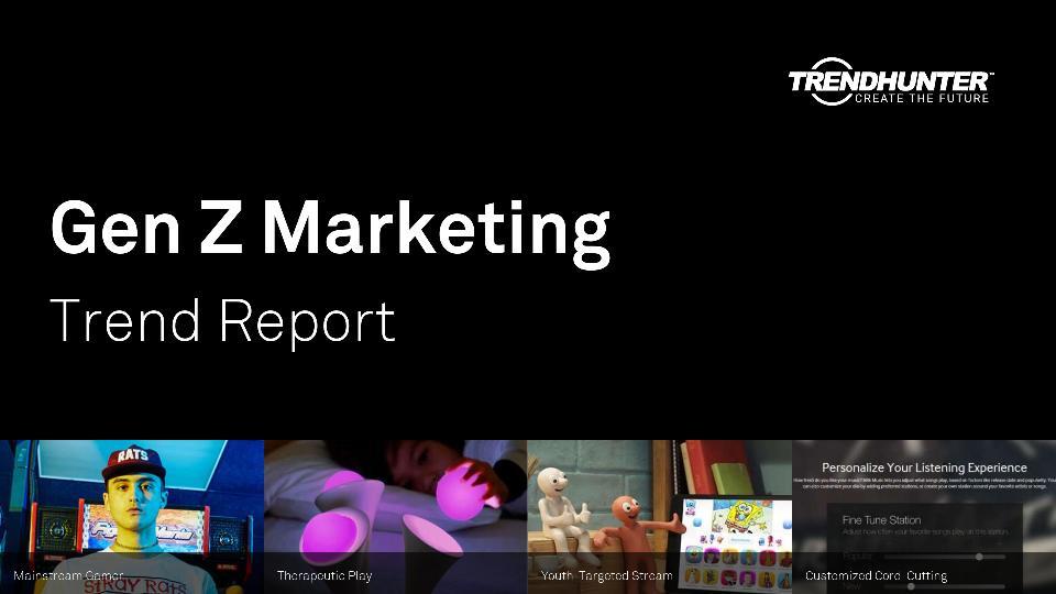 Gen Z Marketing Trend Report Research