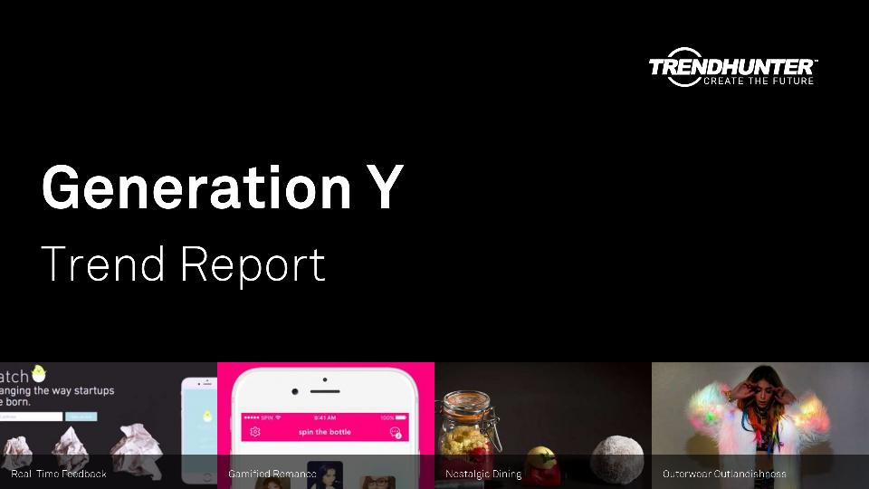 Generation Y Trend Report Research