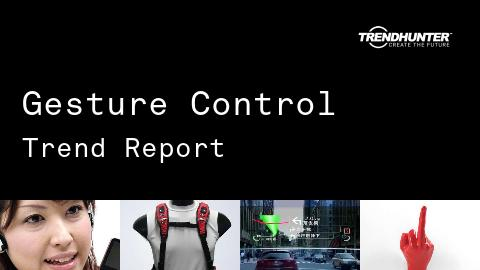 Gesture Control Trend Report and Gesture Control Market Research