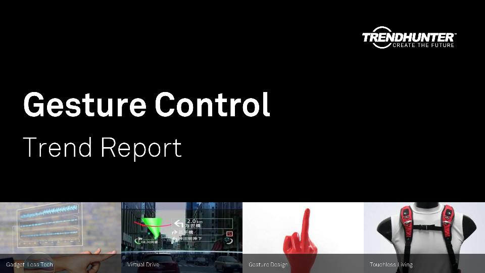 Gesture Control Trend Report Research