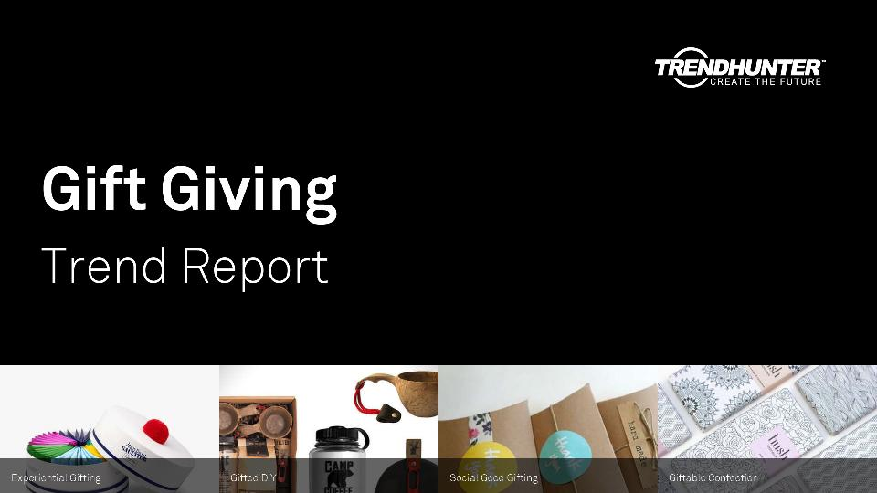 Gift Giving Trend Report Research