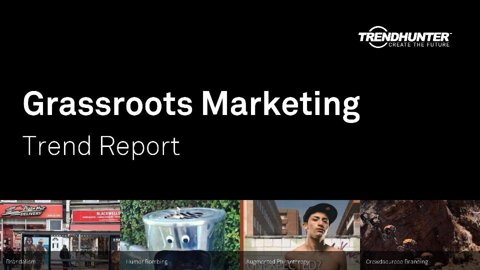 Grassroots Marketing Trend Report Research