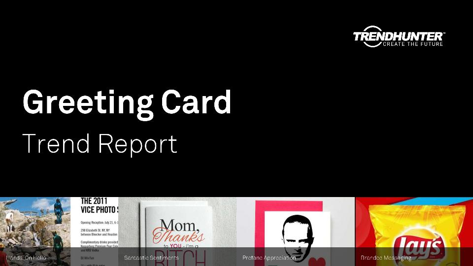 Greeting Card Trend Report Research