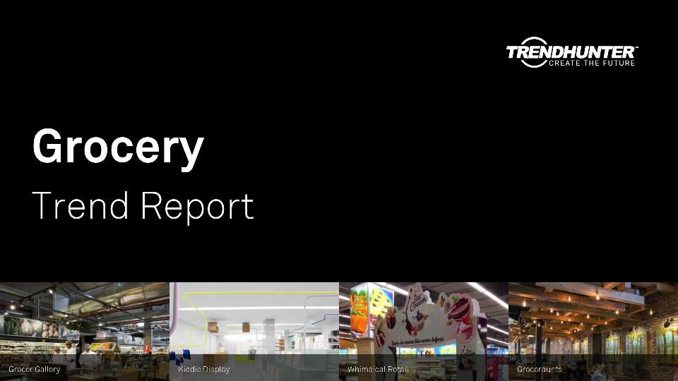 Grocery Trend Report Research