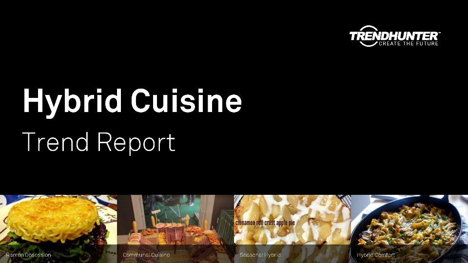 Hybrid Cuisine Trend Report Research
