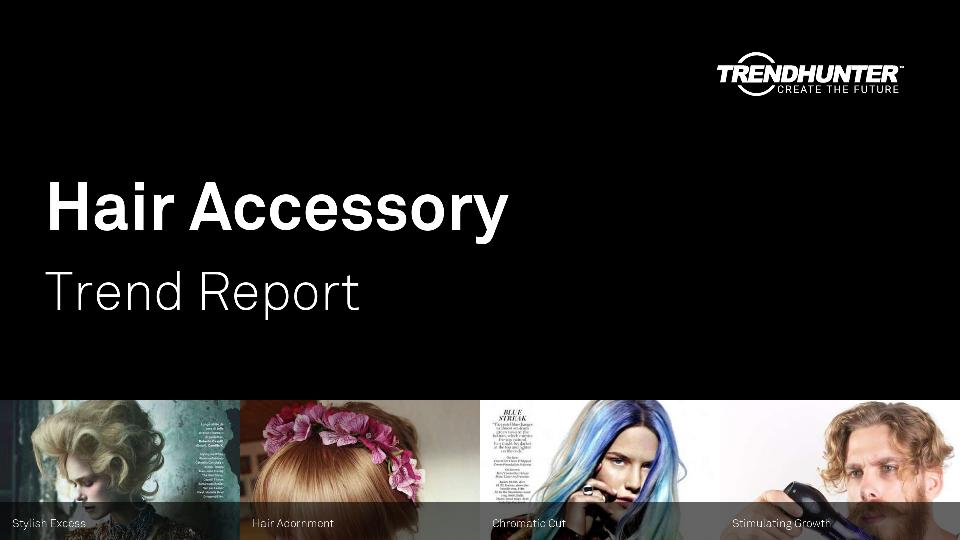 Hair Accessory Trend Report Research