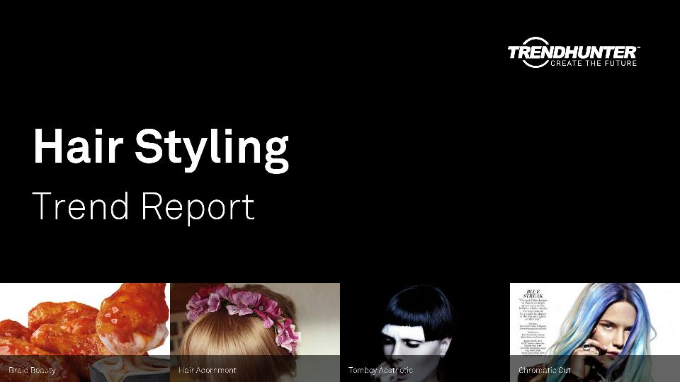 Hair Styling Trend Report Research