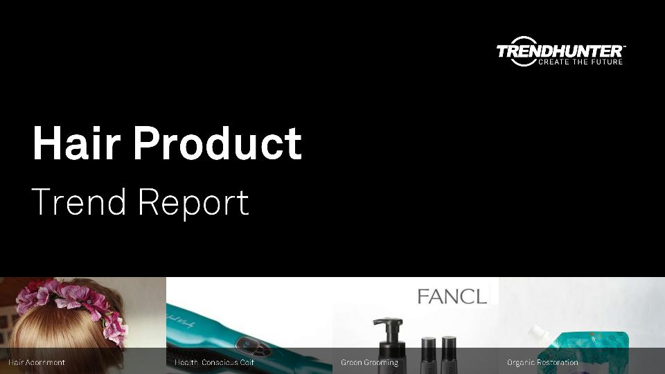 Hair Product Trend Report Research