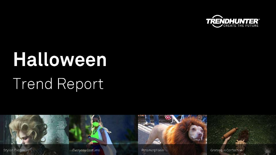 Halloween Trend Report Research