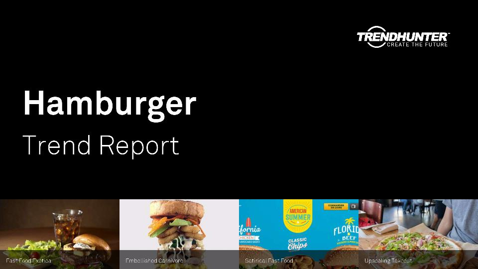Hamburger Trend Report Research