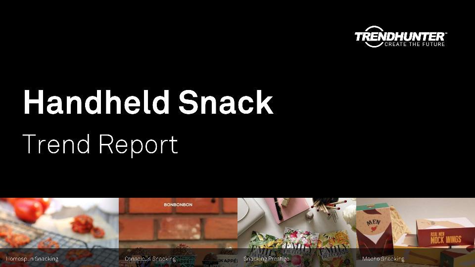 Handheld Snack Trend Report Research